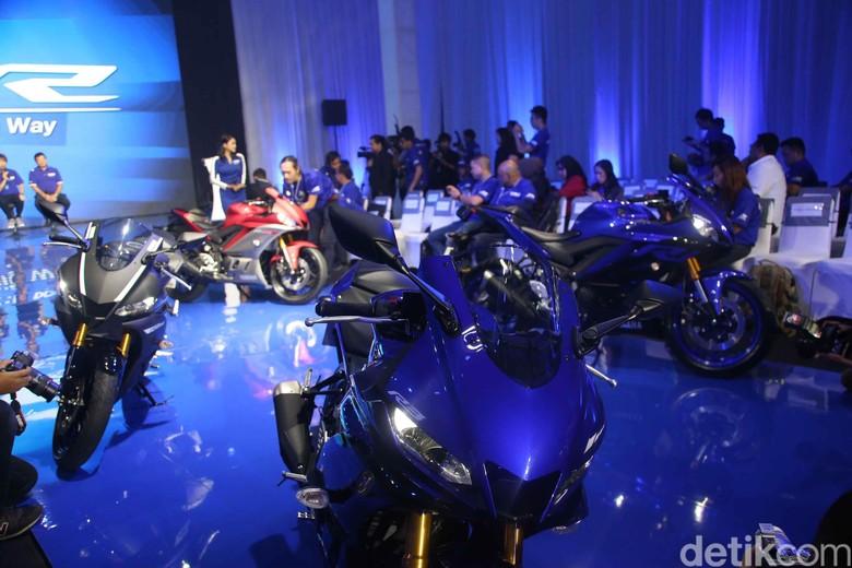 Yamaha Kenalkan R25 dan R3 Generasi Terbaru. Foto: Pradita Utama