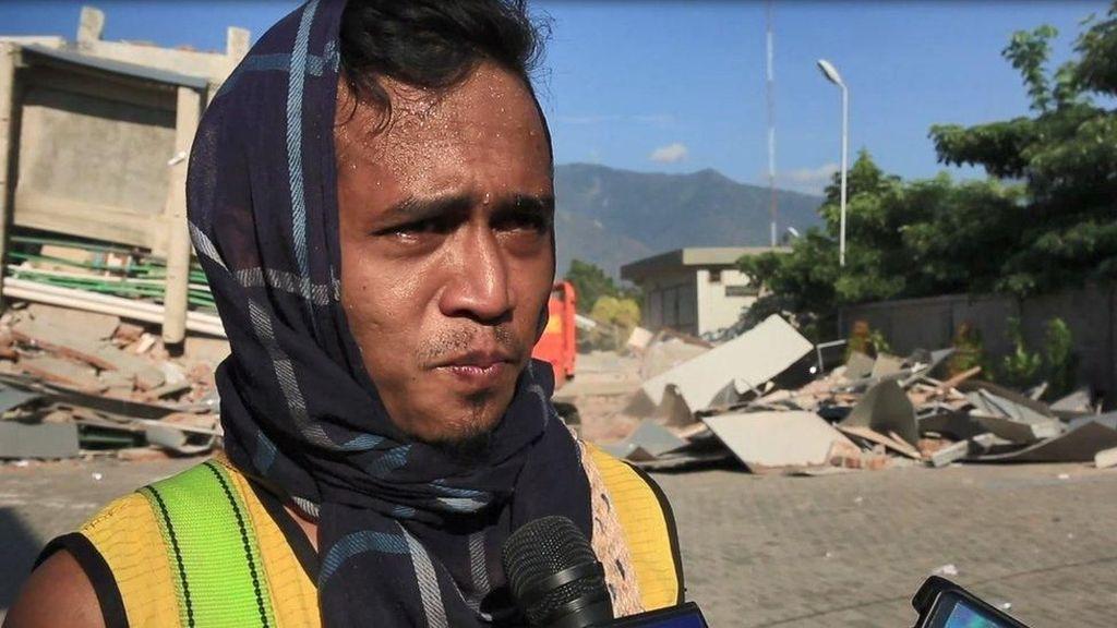 Kisah Relawan Palu: Saya Tidak Punya Alat, Hanya Suara