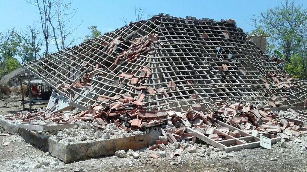 BNPB: 16 Rumah Rusak di Jembrana Bali Dampak Gempa Situbondo