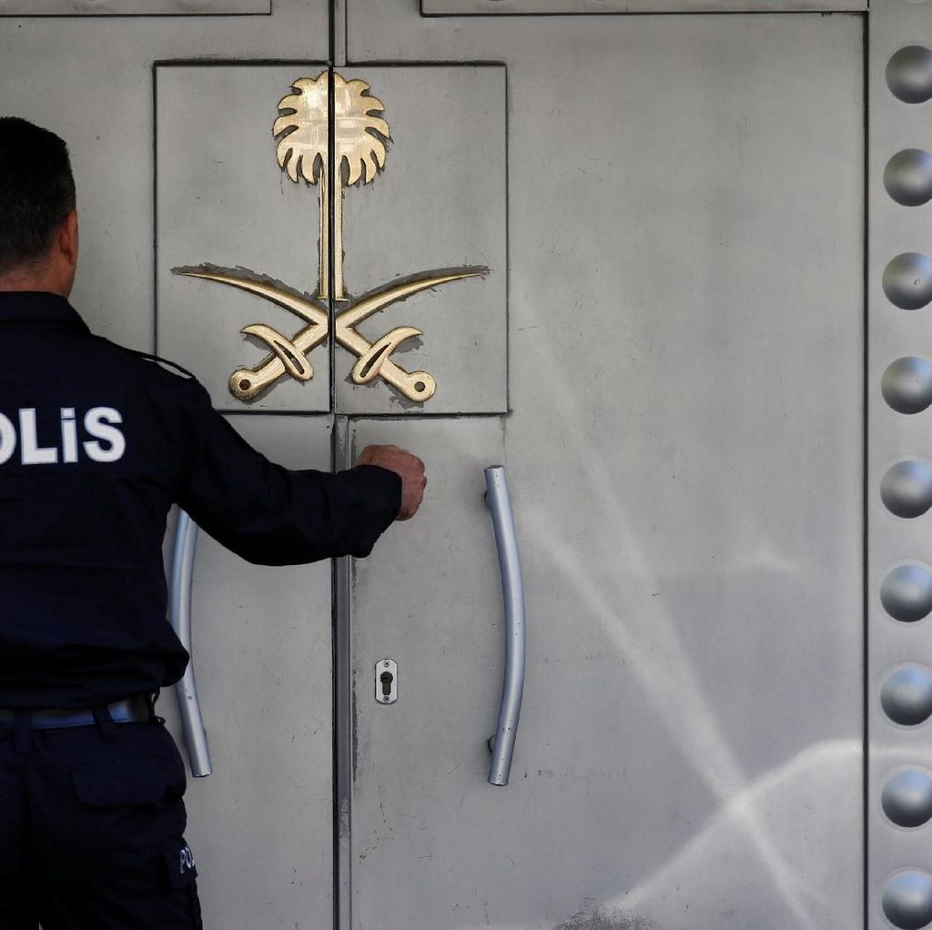 Punya Bukti Rekaman Khashoggi, Turki Bantah Sadap Konsulat Saudi
