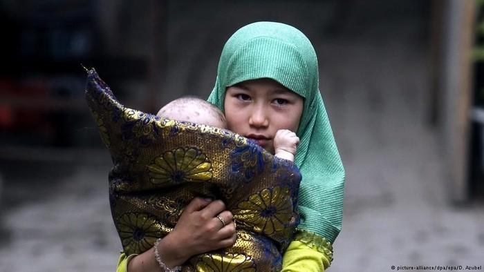 warga Uighur di Xinjiang (Foto: DW (News))