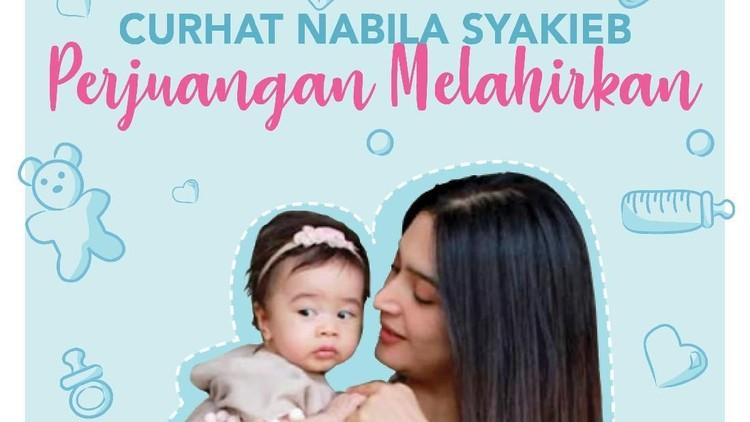 Cerita Nabila Syakieb 2 Hari Tunggu Pembukaan Jalan Lahir