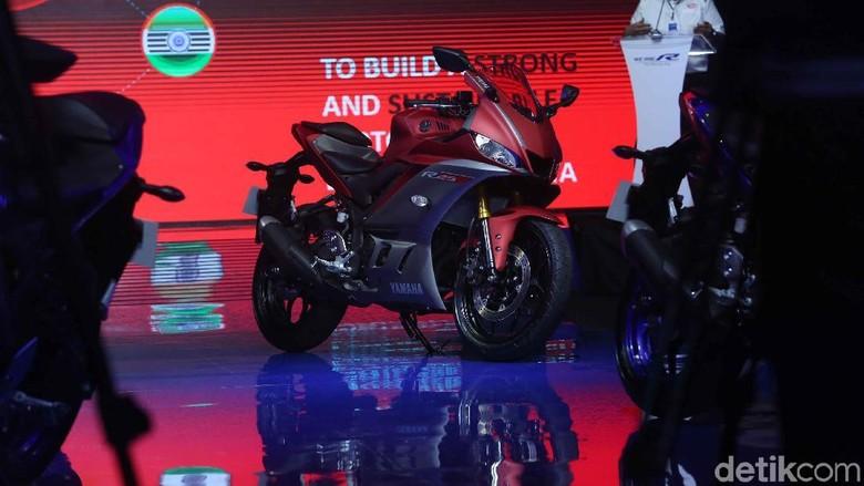 Yamaha saat meluncurkan R25 dan R3 (Foto: Pradita Utama)