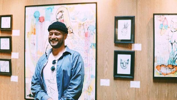 25 Karya Seniman Jalanan Moskow Evgeny Bam Dipamerkan di Bali