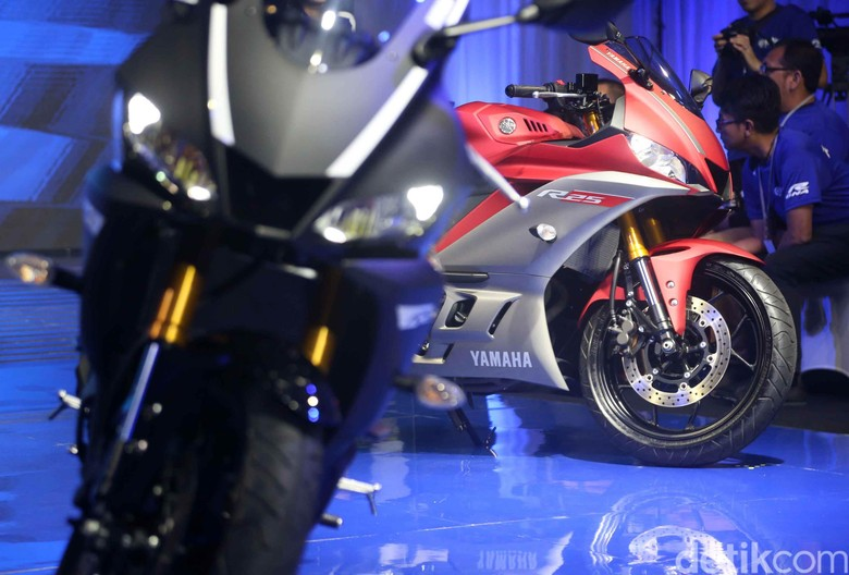 Yamaha R25 Foto: Pradita Utama
