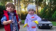 Ibu Kreatif, Hobi Bikin Kostum Film 80-an untuk Anak