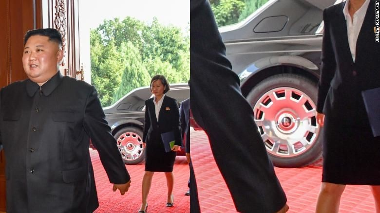 Rolls-Royce baru Kim Jong Un. Foto: CNN