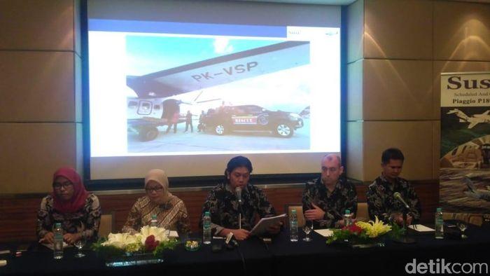 Foto: Konferensi Pers Susi Air/Achmad Dwi Afriyadi