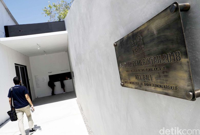 Art Bali dibuka pada Selasa (9/10) di Nusa Dua, Bali, oleh Menteri Keuangan, Sri Mulyani.