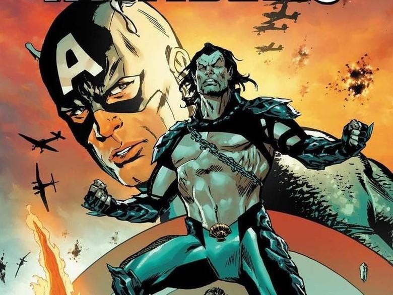 Captain America Lawan Mantan Sekutunya di Komik Ini