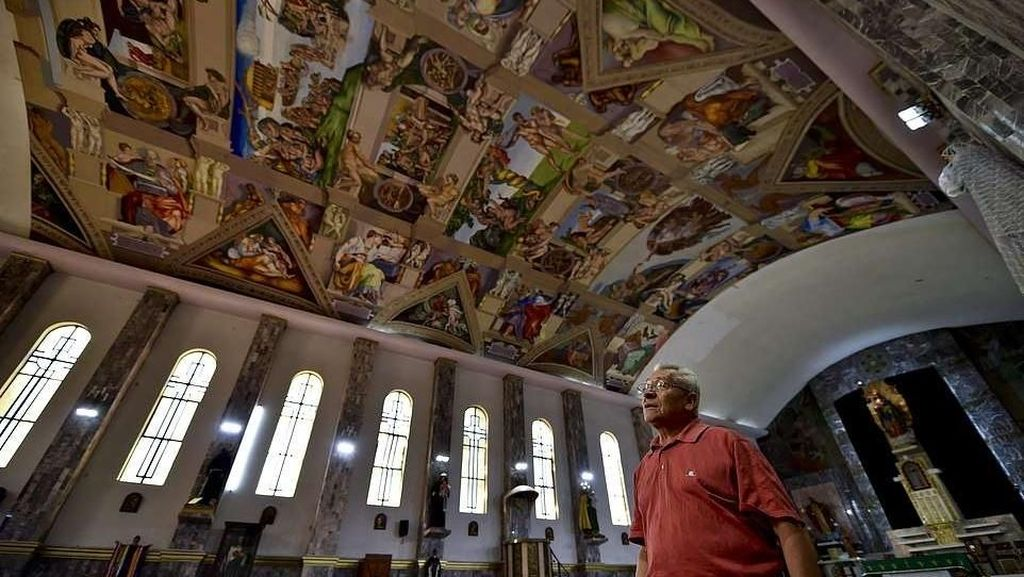 Foto: Kapel Kediaman Paus di Vatikan Pindah ke Meksiko