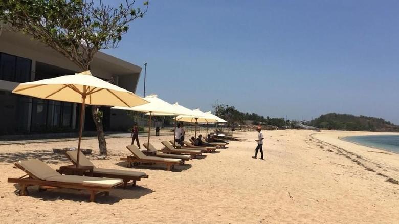 Foto: Pantai Kuta di KEK Mandalika (dok ITDC)