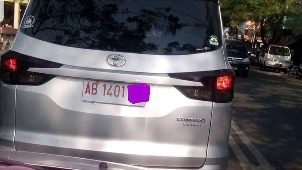 Heboh! Ada Toyota Rasa Wuling di Yogyakarta