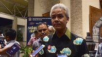 Ganjar Putuskan UMP Jateng 2019 Rp 1,6 Juta