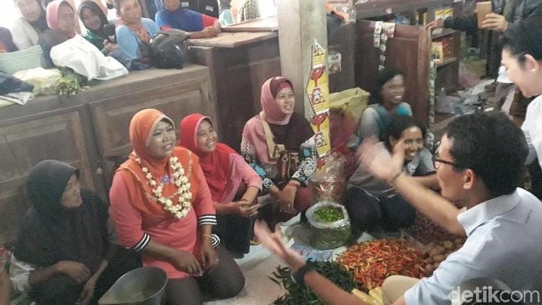 Usai Blusukan di Pasar Bareng Titiek, Sandi Akan Temui Sultan HB X