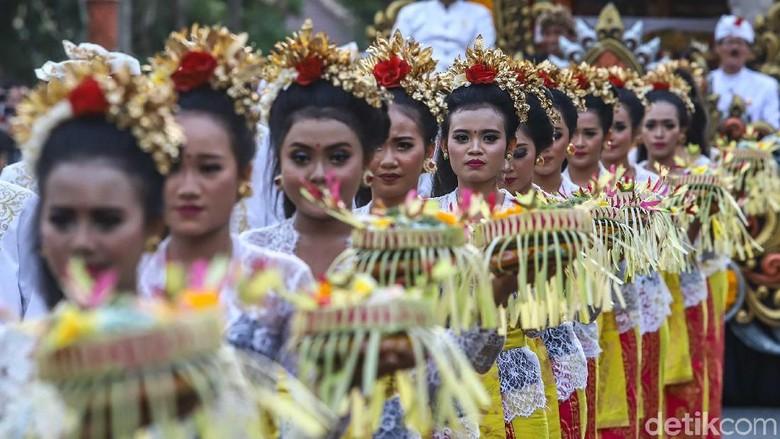 Parade Budaya Bali di Acara IMF-World Bank (Rachman Haryanto/detikTravel)