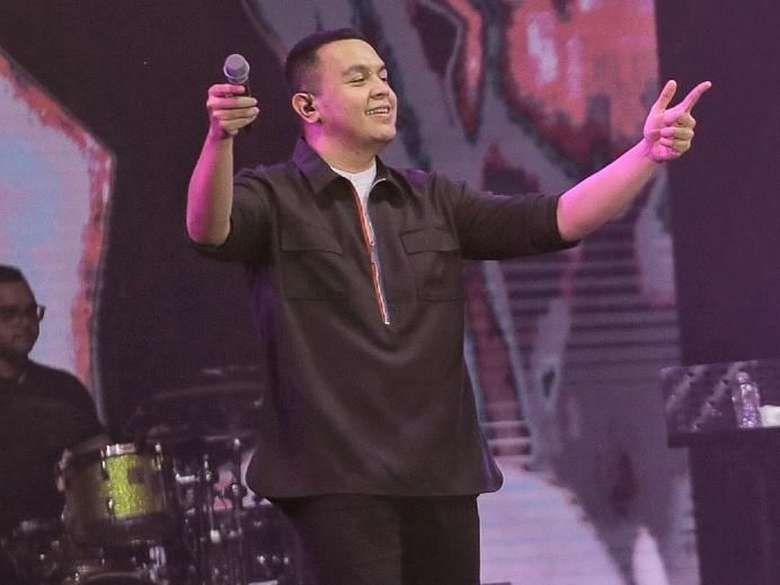 Bernyanyi Bersama Tulus di Spotify On Stage 2018