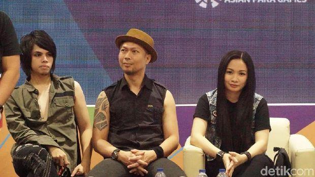 Cokelat salah satu musisi yang akan tampil di penutupan Asian Para Games 2018.