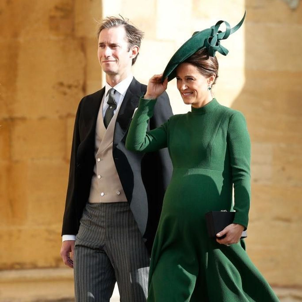 Selamat! Pippa Middleton Lahirkan Bayi Laki-laki