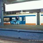 Setelah MRT, Giliran Kereta Bandara Dicoret-coret Tangan Jahil