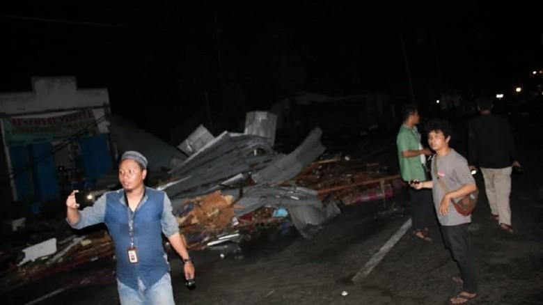 Aksi 5 Jurnalis Selamatkan Korban Gempa Palu Diganjar Penghargaan