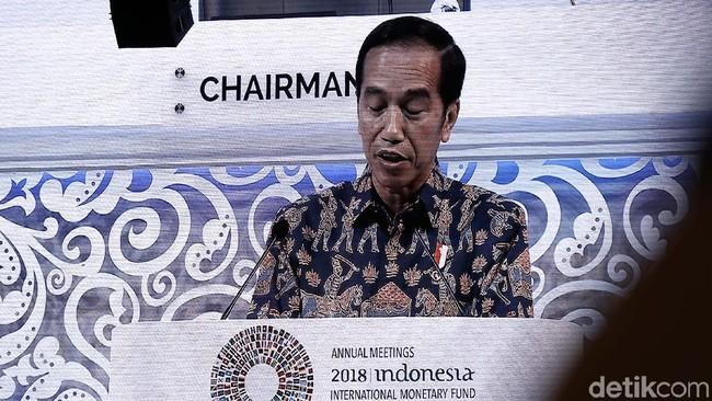 Pidato Game of Thrones Jokowi yang Mengguncang IMF-WB
