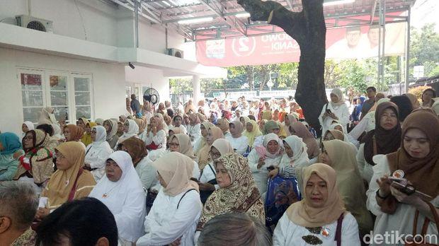 Acara deklarasi perempuan Prabowo.