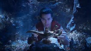 Pertemuan Aladdin dengan Lampu Ajaib di Teaser Perdana
