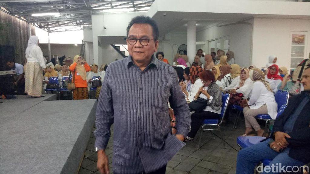 M Taufik Pimpin Deklarasi Relawan Perempuan Prabowo