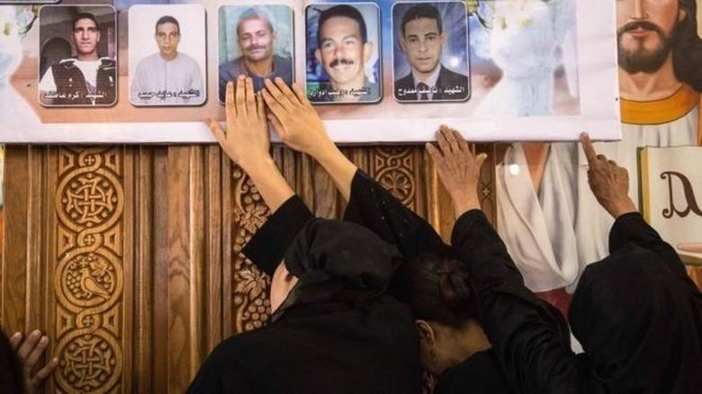 Mesir vonis mati 17 pelaku bom Gereja Koptik