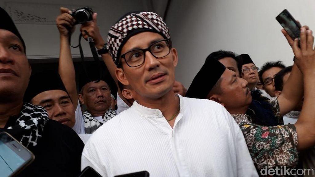 Sandi Bicara Ekonomi Keumatan ke Jemaah Masjid di Yogyakarta