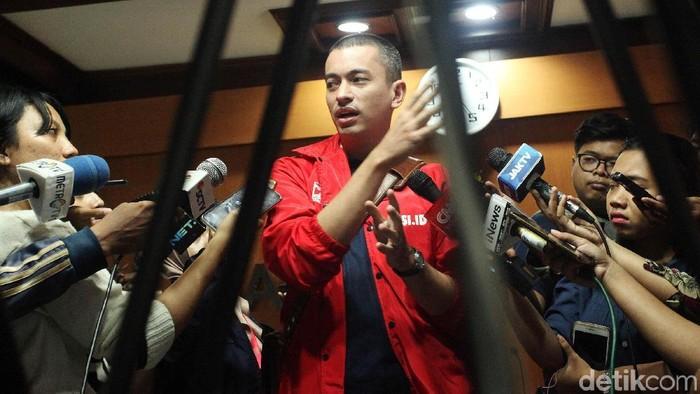 Wakil Ketua DPW PSI DKI Jakarta, Rian Ernest. (Foto: Lamhot Aritonang)