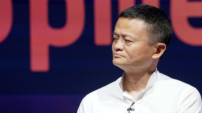 Pengusaha sekaligus pendiri Alibaba Group Jack Ma hadir dalam rangkaian pertemuan tahunan IMF-WB di Bali. Foto: Rachman Haryanto