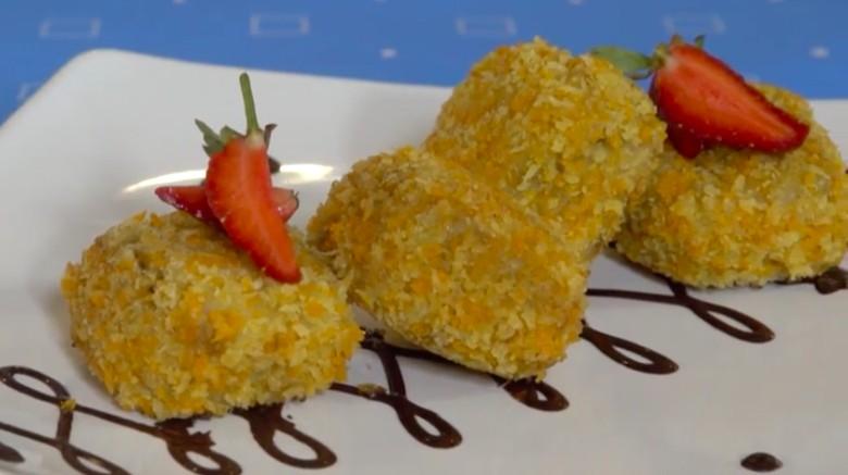 Resep Pisang Nugget Cokelat/Foto: Modern Moms Trans7