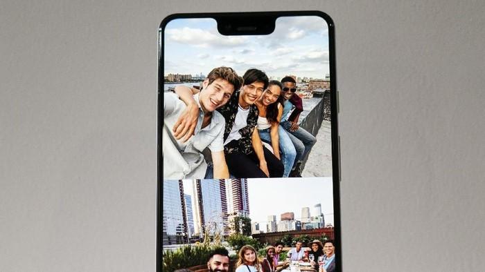 Notch di Google Pixel 3 XL juga kena sindir Samsung (Foto: Drew Angerer/Getty Images)
