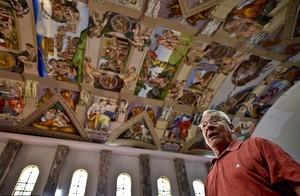 Mirip Aslinya, Replika Kapel Sistina Dibangun di Meksiko