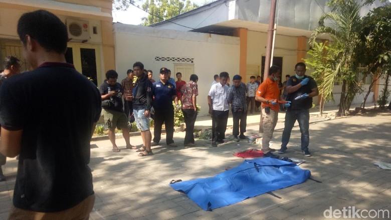 Mayat Pria dengan Luka Tusuk Ditemukan di Dinas PU Makassar