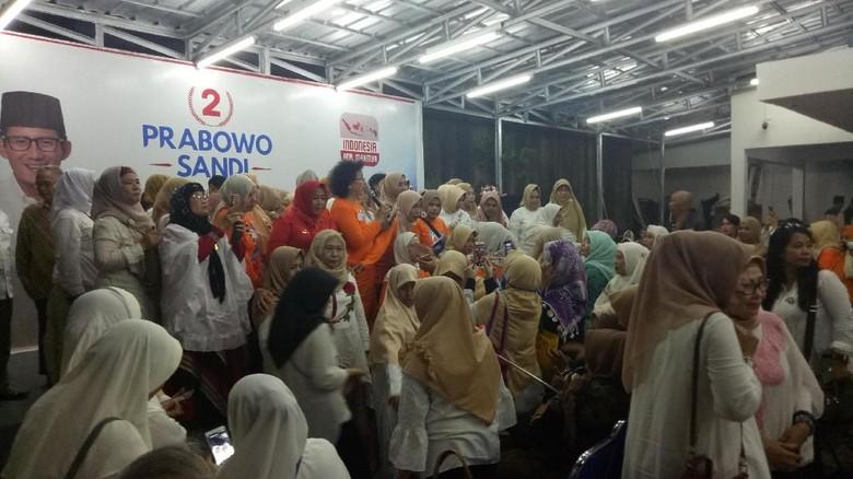 Deklarasi Dukung Prabowo-Sandi, Perempuan Prabowo Minta Ini