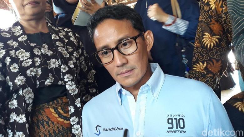 Make Indonesia Great Again Jadi Polemik, Sandiaga: Kenapa Alergi?