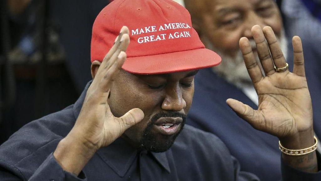 Demi Karya Seni Gunung Berapi, Kanye West Sumbangkan Rp 142 M