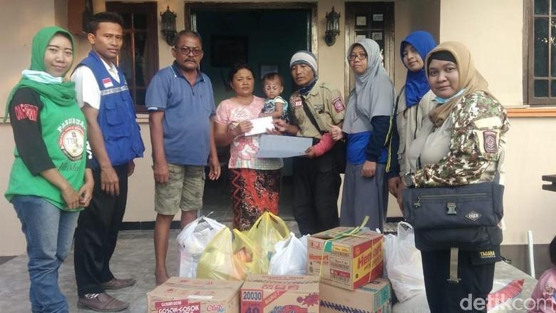 Puluhan Korban Gempa Palu Mengungsi ke Pasuruan