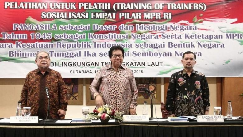 MPR Latih Masyarakat Jadi Narasumber Empat Pilar
