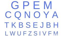 Yuk coba asah ketajaman matamu dengan menemukan huruf yang tidak ada di deretan-deretan ini. Siap-siap memicingkan mata ya!