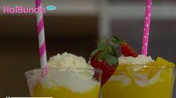 Strawberry Mango Smoothies, Minuman Segar Kaya Vitamin