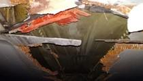 Ini Pesawat Air India yang Tercabik Usai Serempet Tembok Bandara
