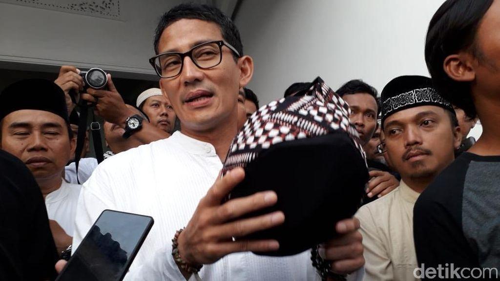 Mirip OK OCE, Sandiaga Dorong One Masjid One Product di Yogyakarta