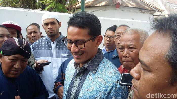 Sandiaga Uno/Foto: Usman Hadi/detikcom