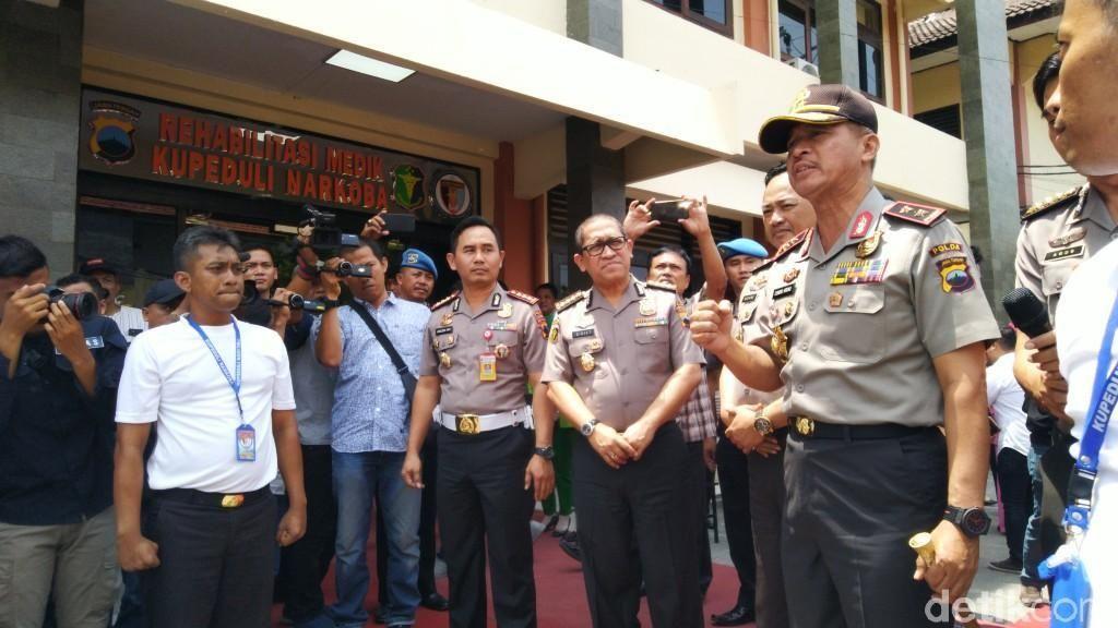Polda Jateng Buka Tempat Rehab Anggotanya yang Pakai Narkoba
