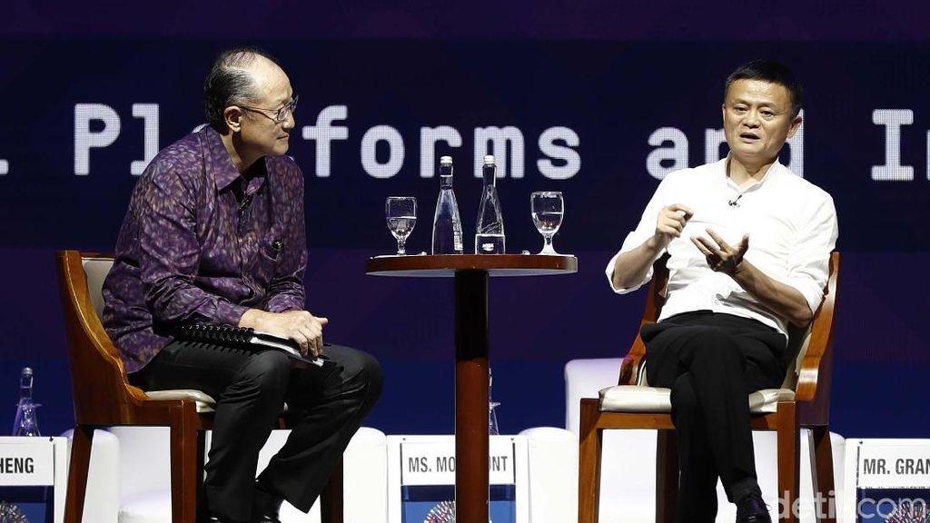 Jack Ma: Internet Diciptakan untuk Negara Berkembang