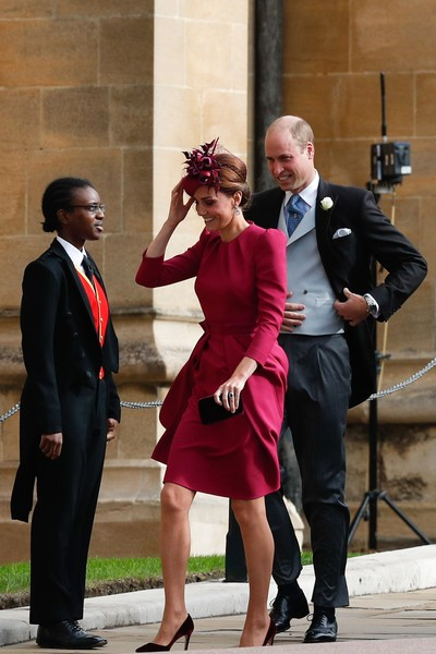 Kate Middleton di Pernikahan Putri Eugenie di Kastil Windsor. Foto: Dok. Getty Images